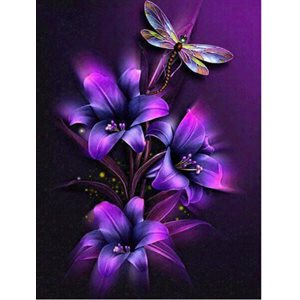 Diamond painting 30x25cm- bte incluse