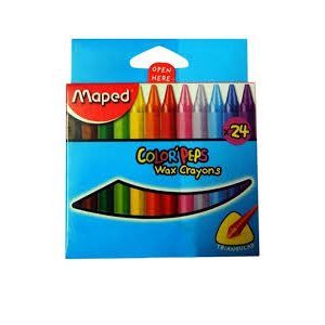 Crayon de cire Color'peps Maped 24